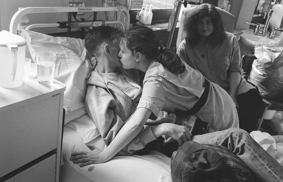 malati terminali di aids e prendersene cura. Si muore ogni giorno